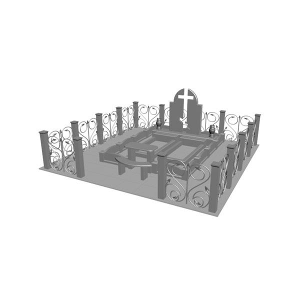 Макет ритуального комплекса эскиз