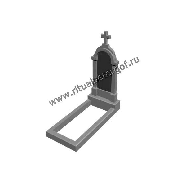 Макет памятника с крестом №2 спб