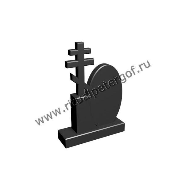 Макет памятника с крестом №4 спб