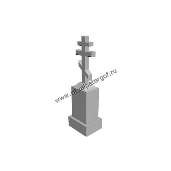 Макет памятника с крестом №6
