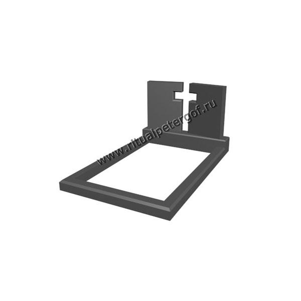 Макет памятника с крестом №7