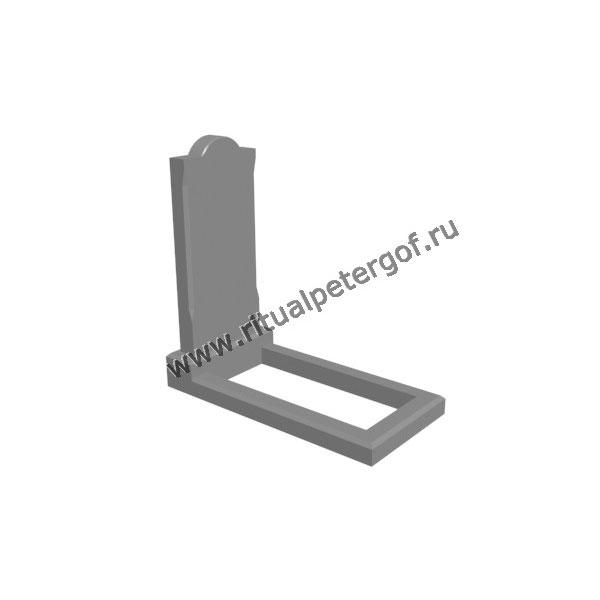 Макет памятника вертикальный №3