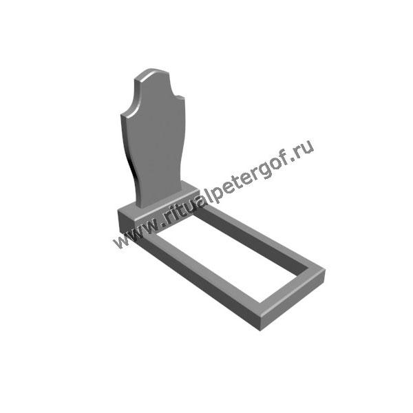 Макет памятника вертикальный №6