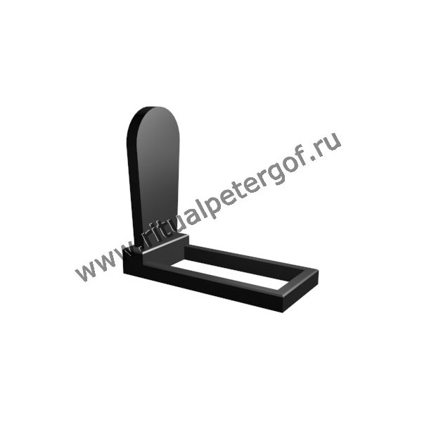 Макет памятника вертикальный №19