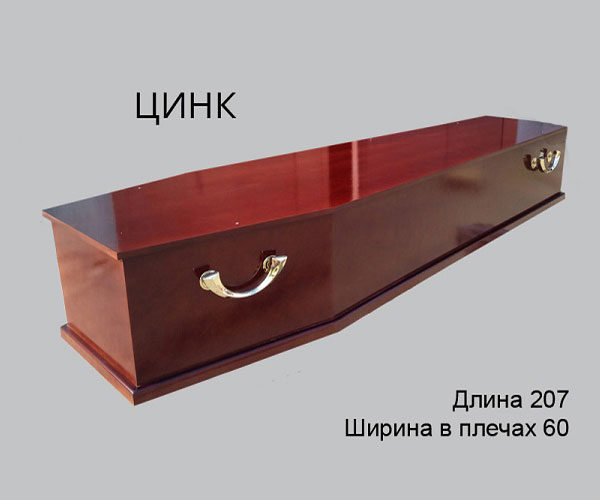 Гроб Цинк 2
