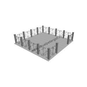 ограда памятника №2